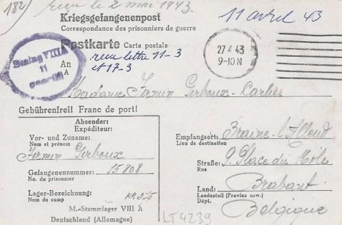 27 04 1943 stalag VIII A