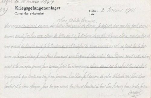 12 03 1941 stalag VIII A