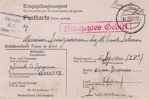 09 02 1943 stalag IV C