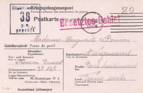 02 10 1942 stalag IV A