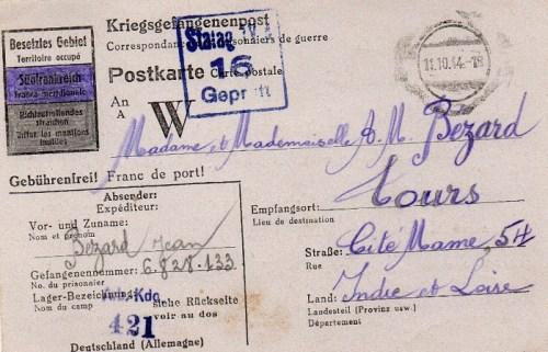 11 10 1944 stalag IV A