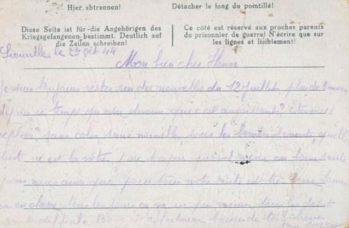 23 10 1944 stalag VI G