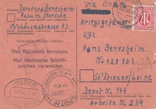 prisonniers de guerre allemands en france camp n°148
