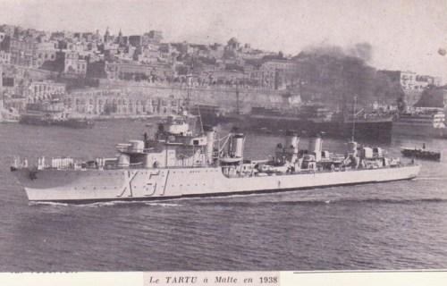 le tartu à Malte en 1938