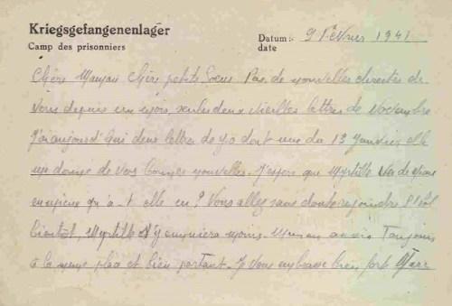 09 02 1941 stalag VIII C