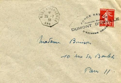 29 07 1938 Dumont d'Urville