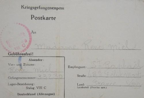 18 08 1940 stalag VIII C