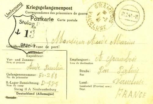 17 02 1941 stalag II A