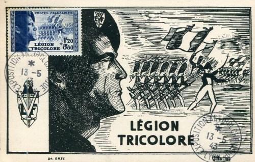 1943 la légion tricolore