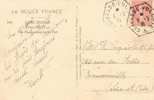 06 07 1931 cuirassé Vulcain