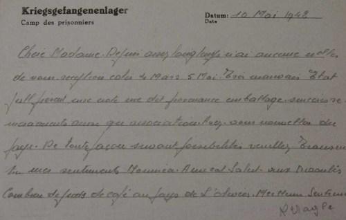 20 05 1942 stalag XIII A
