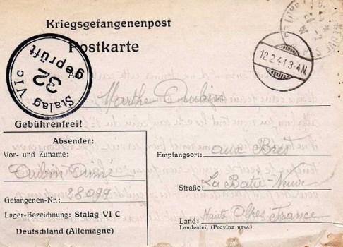 12 02 1941 STALAG VIC