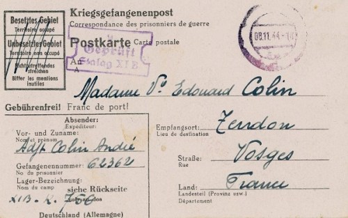 08 11 1944 stalag XIB
