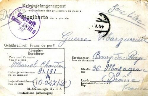 23 04 1944 stalag XVIIIA