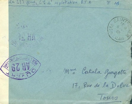 controle postal AB 29
