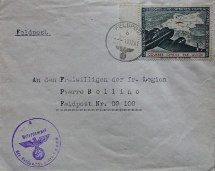 O.T feldpost 13 426 B 18 12 1941