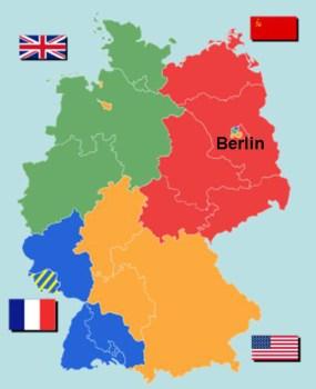 partage du Reich allemand