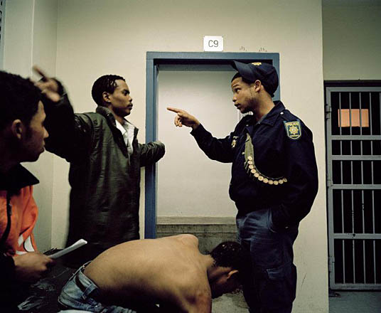 Beaufort West Police Station, South Africa,  2006. © Michael Subotzky