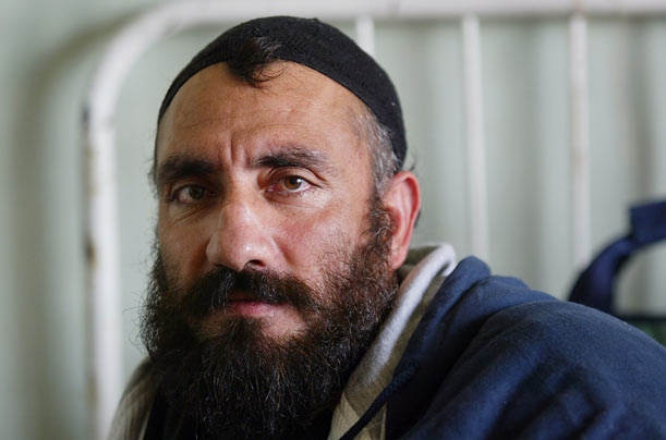 One of the first to be released in 2002, Mohammad, a farmer, says that he was forcibly conscripted into the Taliban, but tried to get away by surrendering himself to the enemy, the notorious warlord Abdul Rashid Dostum, who promptly served him up to the Americans. After less than a year, the Americans deemed him no threat and returned him to Afghanistan. He says that during his time in captivity, he was well treated by the U.S. military. © Paula Bronstein/Getty