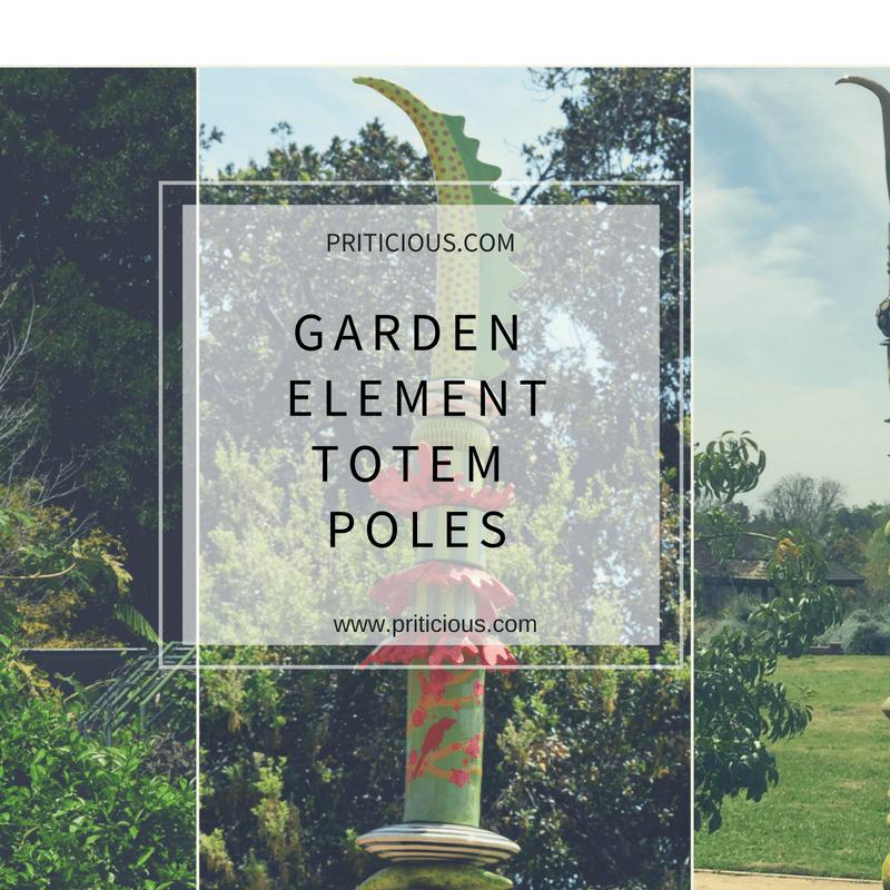 Garden Elements -  Totem Poles