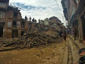 earthquake recontruction bhaktapur