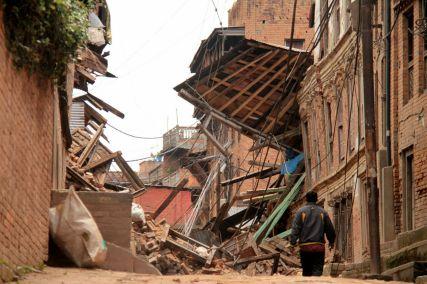 bhaktapur after earthquake
