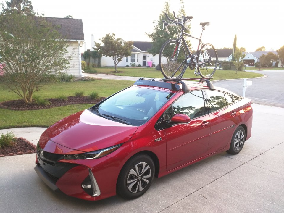 roof rack or install a hitch thule