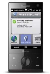 F-Secure Mobile Security app protecting a smartphone