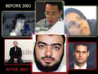 Famous virus writers before 2003 (upper section) and after 2003 (below)