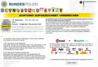 Reveton - Bundespolizei ransomware