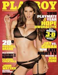 Magazine with 3D photo shoots of Hope Dworaczyk