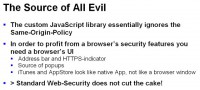 AppStore and iTunes security flaws