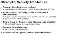 Essentials of Chrome OS security