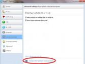 Skype - Advanced settings