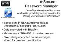 Essentials of mSecure app