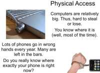 Third-party physical access to devices