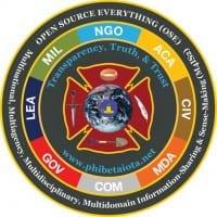 OSE/M4IS2 (Open Source Intelligence / Multinational, Multiagency, Multidisciplinary, Multidomain Information-Sharing & Sense-Making) logo