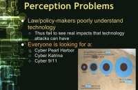 Misperception of possible impacts
