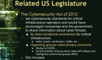 The Cybersecurity Act of 2012