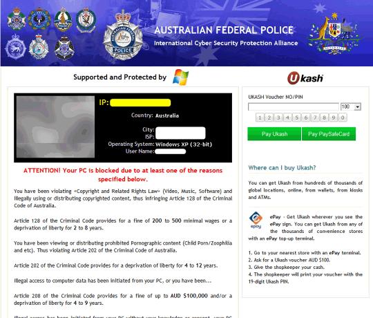 Australian Federal Police version