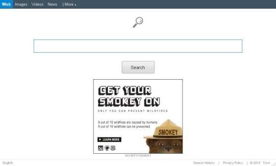 Search.conduit.com homepage screenshot