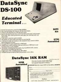 DataSync DS-100 terminal