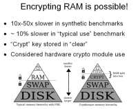 RAM encryption - mission possible?