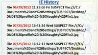 Edgar's IE history