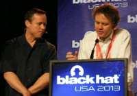 Brian Krebs and Matthew Prince polemicizing at Black Hat