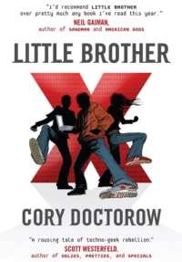 Book cover for Cory Doctorow's famous 'Little Brother'