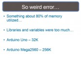 Memory error