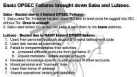 Blatant OPSEC failures by Sabu and LulzSec