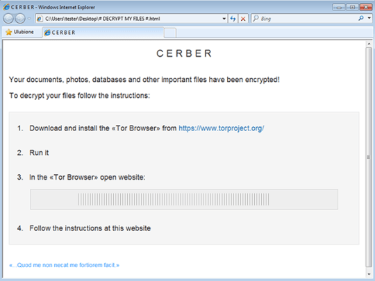 # DECRYPT MY FILES #.html with recovery steps