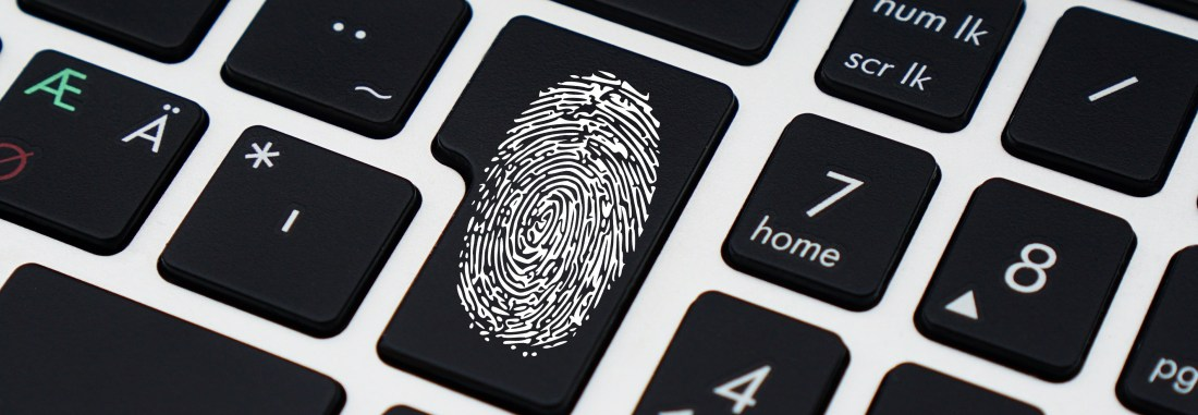 Fingerprint on keyboard- privacy